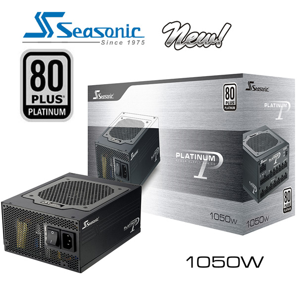 Seasonic 80Plus Platinum Series 1050W New Power Supply