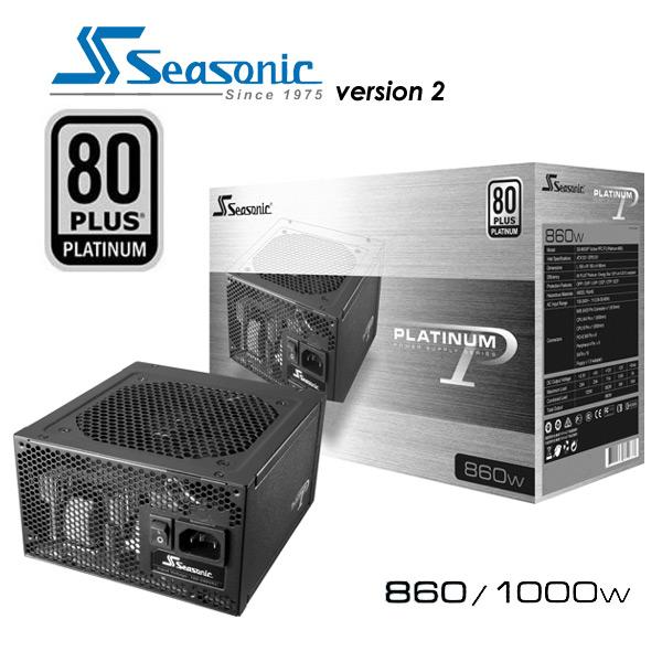 Seasonic Platinum Series  80Plus Platinum 860W PSU (Version 2)