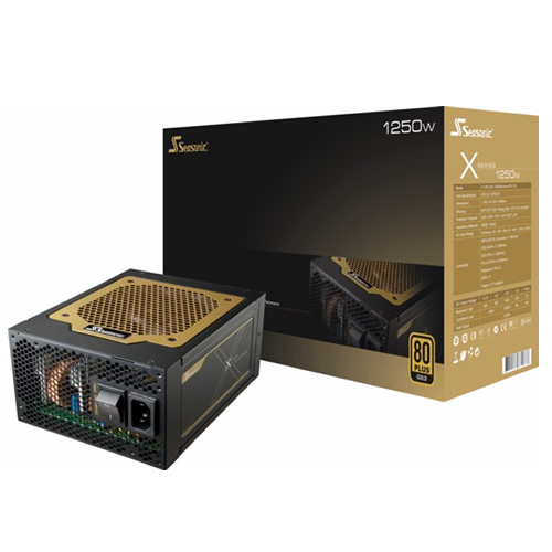 Seasonic X-Series 1250W PSU - 80Plus Gold